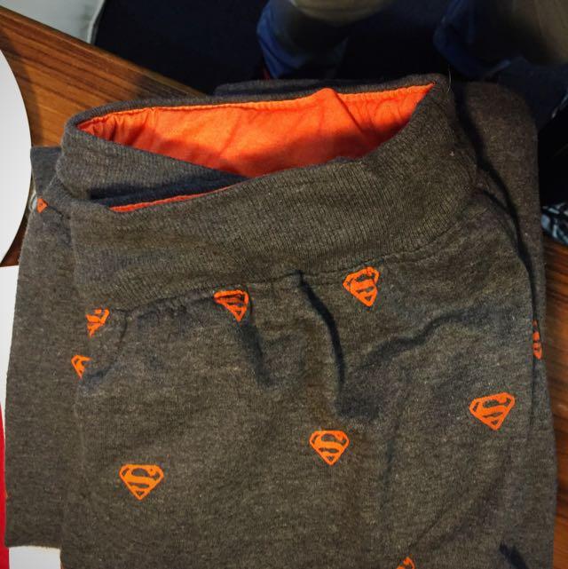 Superman Printed Sweatpants/joggers