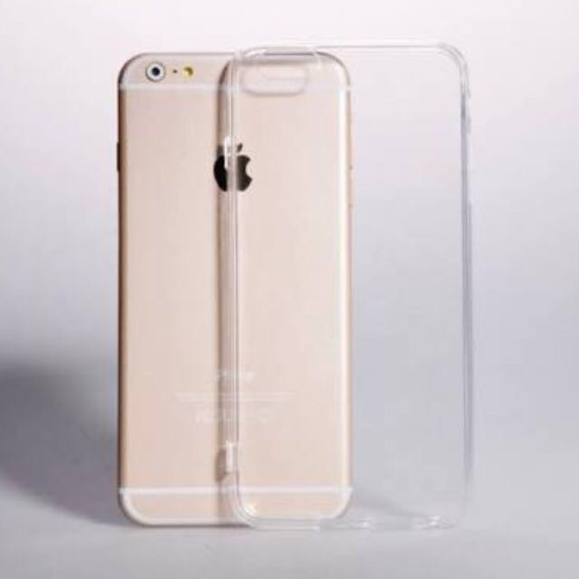 PROMO! Transparent Silicone Material Case For iPhone 6