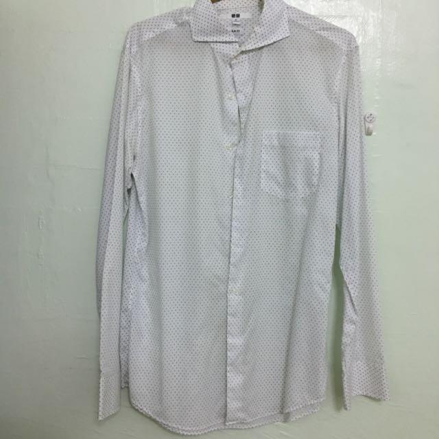 Uniqlo Long Sleeves Polo