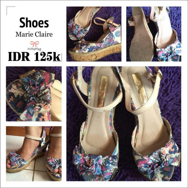 Wedges Marie Claire 39