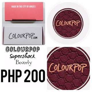 Colourpop | Supershock | Beverly