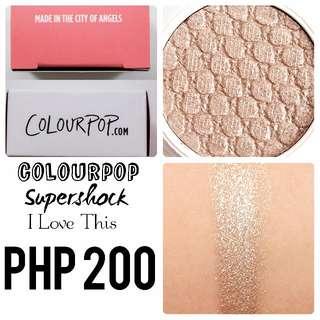 Colourpop | Supershock | I Love This