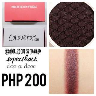 Colourpop | Supershock | Doe a Deer