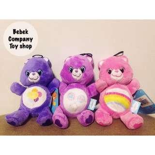 🎄特價 6吋 /16cm Care Bears plush 彩虹熊 愛心熊 玩偶 寶寶系列 絕版玩具