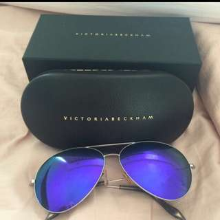 Victoria Beckham Purple Lenses Sunglasses