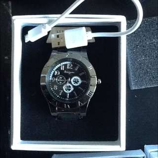 Men's Cigarette Lighter Watch