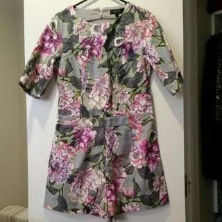 Floral Playsuit From River Island