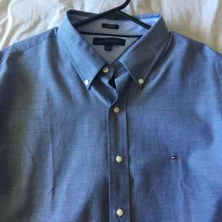 Tommy Hilfiger Men's Long Sleeve Shirt
