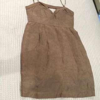 Seduce Beige Dress Size 8