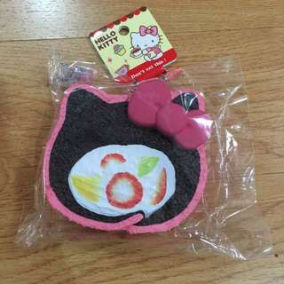 Licensed Hello Kitty Cake Roll Squishy