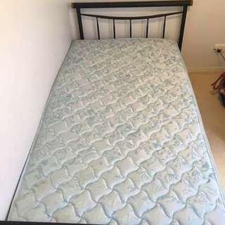 King Single Bed+mattress