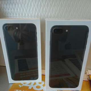 全新 Iphone 7 Plus 128G 霧黑