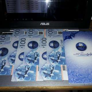 600 worth SM Gift Card