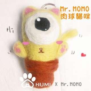 HUMI 虎米 藝館 Mr.momo 羊毛氈 原創 貼圖 立體化
