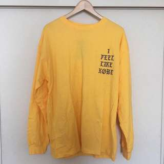 Kanye West - I Feel Like Kobe Long Sleeve Tee