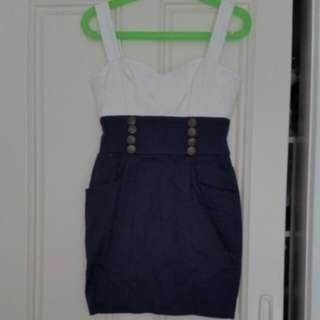 Bodycon Dress Size 8 With Pockets