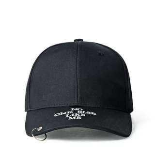 No One Else Like Me Ring Rings Curve Brim Cap Hat Caps Hats with Adjustable Strapback
