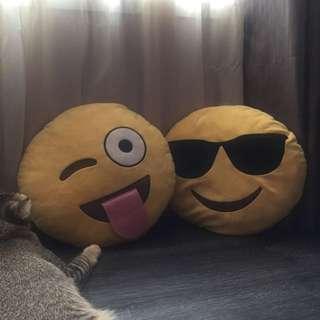 Emoji Pillows (SOLD)