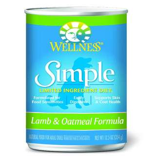 Wellness Simple Canned Dog Recipe (354g)