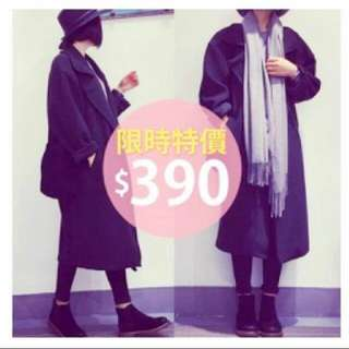 售出 文青的西裝外套大衣