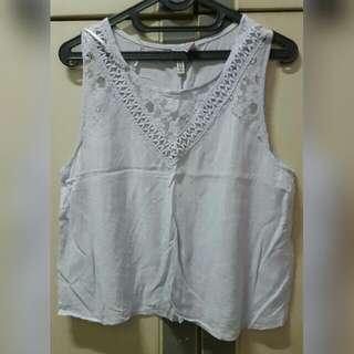 (Preloved) H&M Sleeveless Shirt
