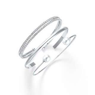 韓國clue飾品品牌 手環三件組