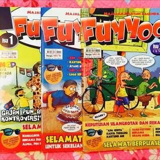 Majalah Komik Fuyyoo NO 1,2&3