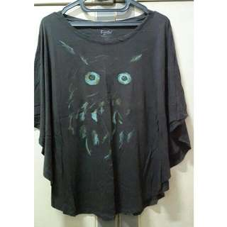 (Preloved) Batwing Owl Ts