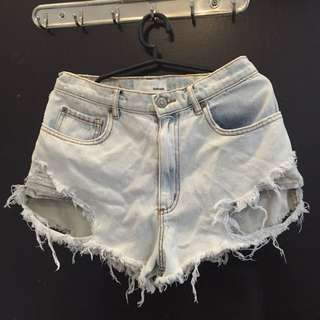 Ripped Shorts From Garage