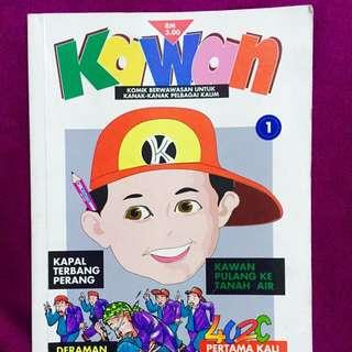 Majalah Komik Kawan No 1