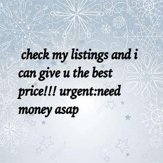 check my listings!!!