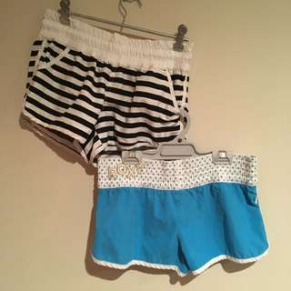 Roxy & Glassons Shorts