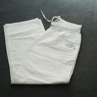 Brand New No Tags Fox White Pants Size 8
