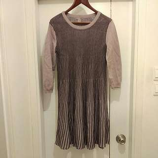 H&M Purple Knitted Dress