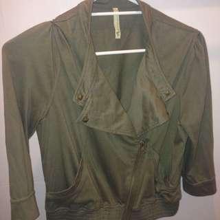 Khaki Jacket Size L