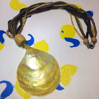 Mother Of Pearl Summer necklace