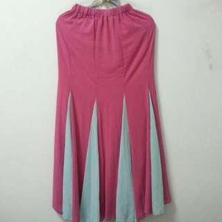 NEW chiffon flare skirt