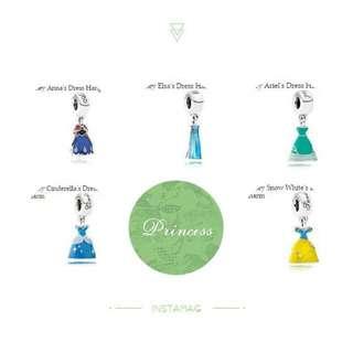 澳洲代購Pandora Disney Collection - 公主裙