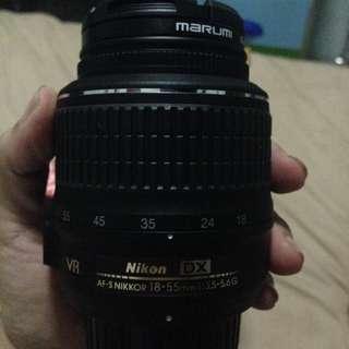 Lensa Kit Nikkon 18-55mm