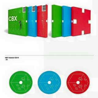 Exo CBX HEY MAMA ALBUM (can choose cover)