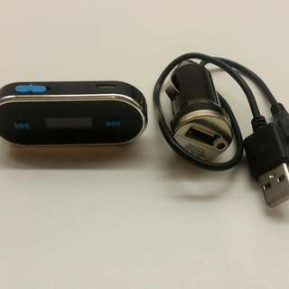 *PENDING* Sansai Handsfree and FM Transmitter With USB Car Charger