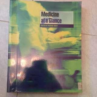 Medicine At A Glance Patrick Davey