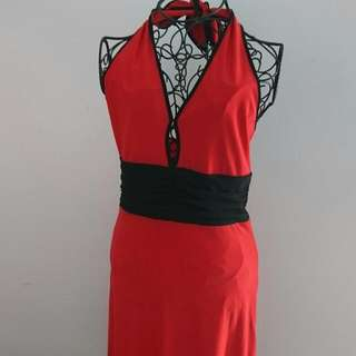 Pinup Girl Halter Style Dress 'Mei Mei'  Brand New With Tags Size 10