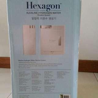 Hexagon Clear Water