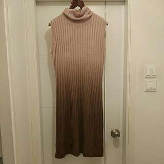 Apart Gradient Knit Dress