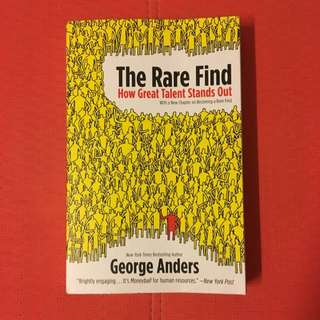 The Rare Find by George Anders (New York Times Bestselling Author)