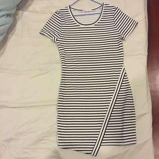 Sass Striped Dress