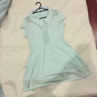 Mint Coloured Dress