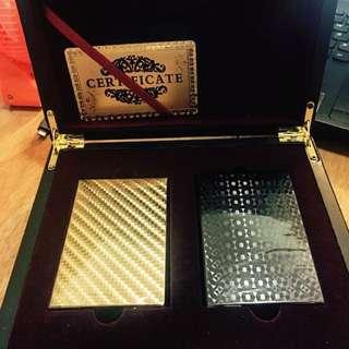 銀河賭場 撲克兩副禮盒