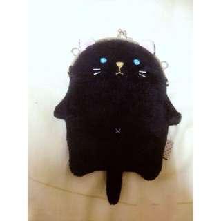 貓咪 票卡包 零錢包 觸控 包